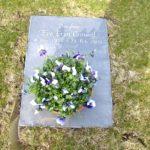 Eve's gravestone