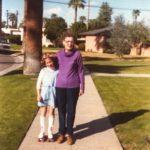 With Grandma Lepley