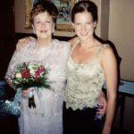 At Mom's wedding