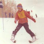 Natural born skiier