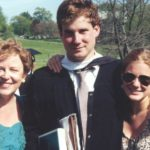 At brother Wyatt's Colgate graduation