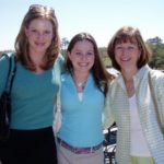 With cousin Meredith & Aunt Carol
