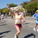 LA Marathon in 2004