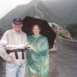 China with Dad 2001