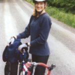 Moutain biker